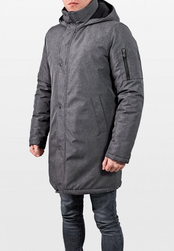 мужская куртка react, серая