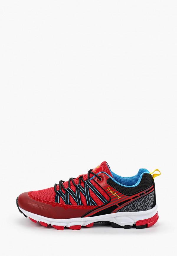 мужские низкие кроссовки timejump, красные