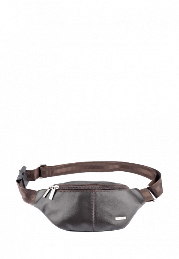 мужская поясные сумка r.blake collection for men, коричневая