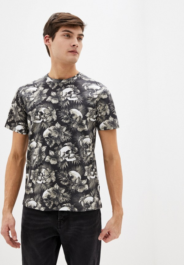 Фото - Мужскую футболку Befree черного цвета