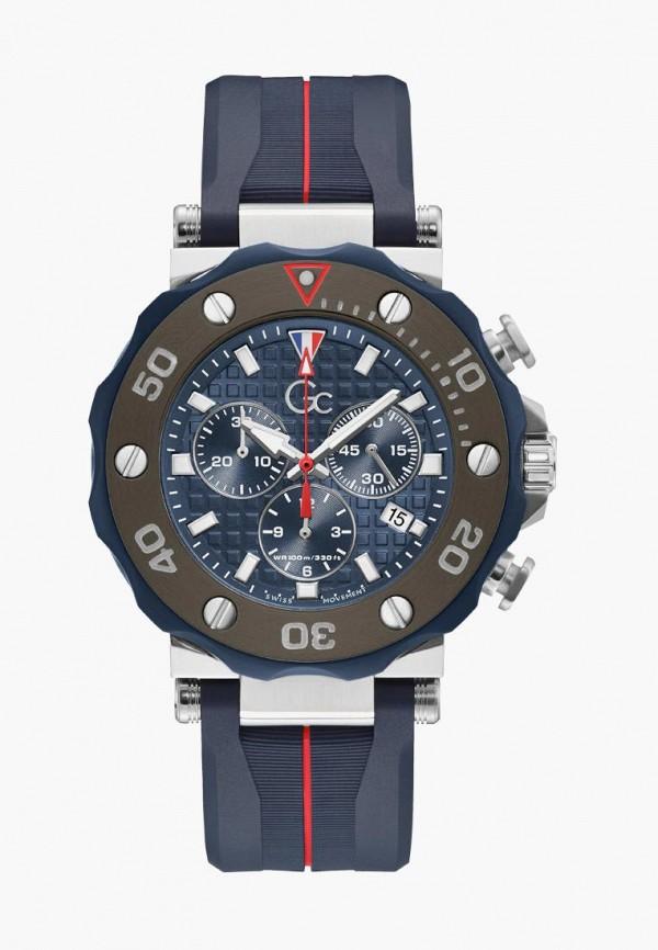 мужские часы gc, синие