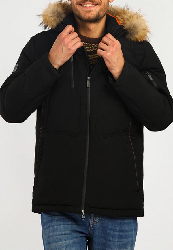 Пуховик Finn Flare черного цвета