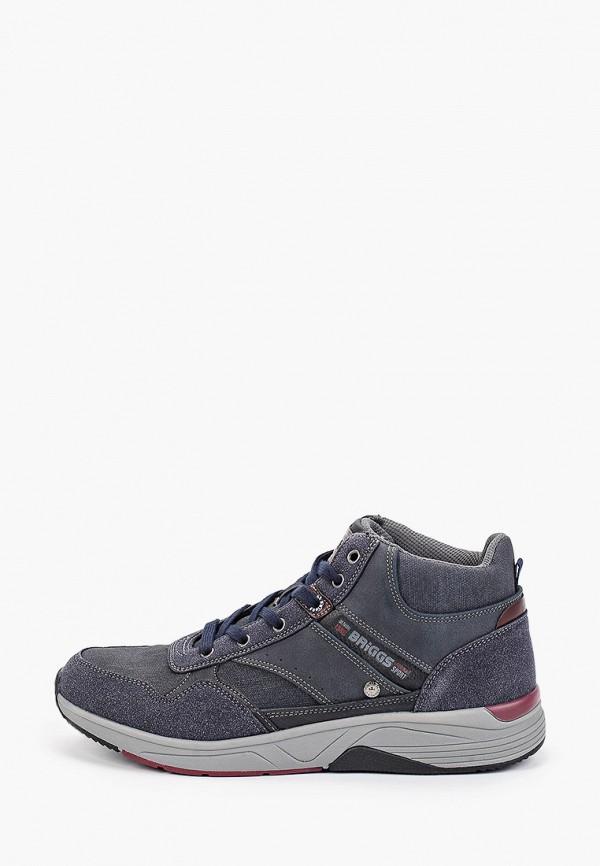 мужские кроссовки briggs, синие