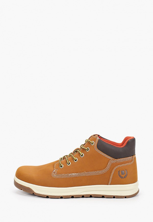 мужские ботинки briggs, коричневые