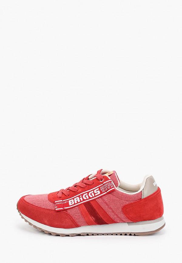 мужские кроссовки briggs, красные