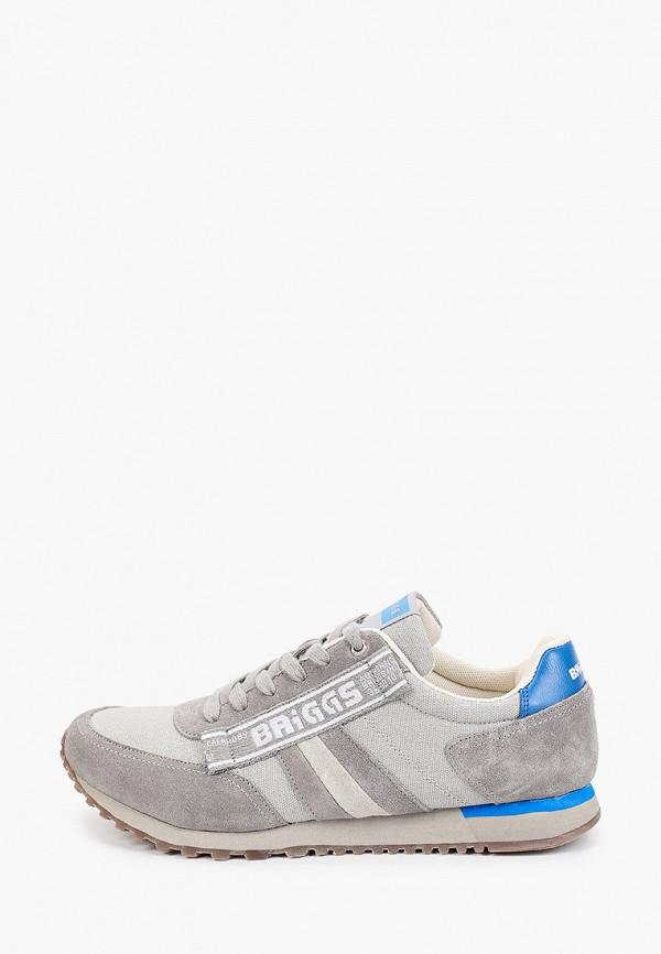 мужские кроссовки briggs, серые
