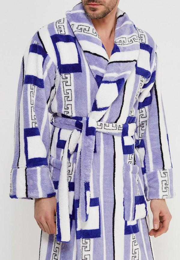 Купить Халат домашний Cleo, mp002xm1r3pg, голубой, Осень-зима 2018/2019
