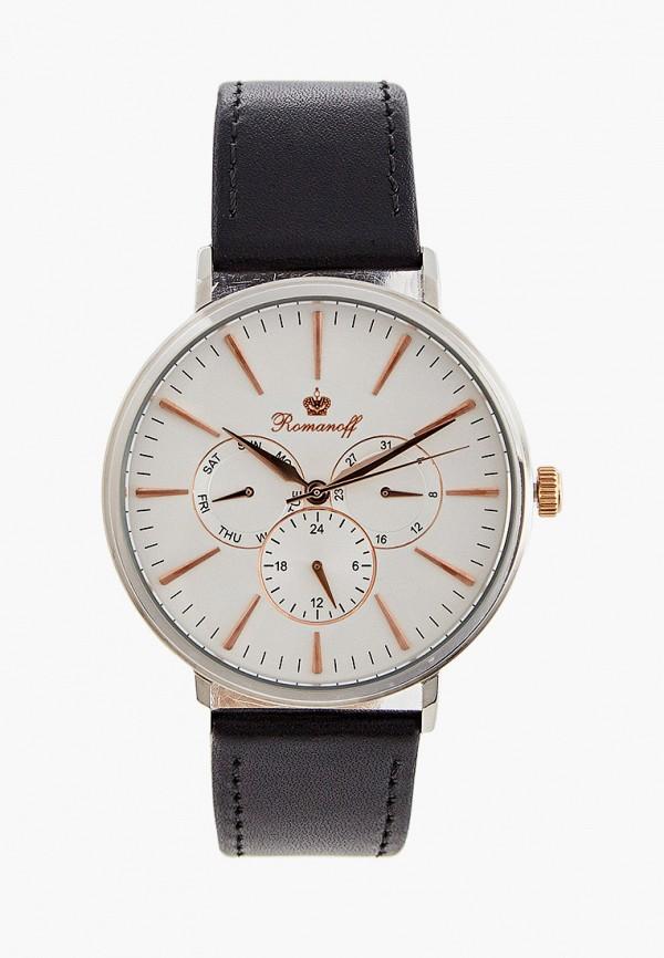 мужские часы romanoff, серебряные