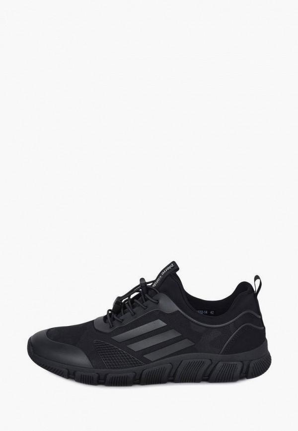 мужские низкие кроссовки pierre cardin, черные