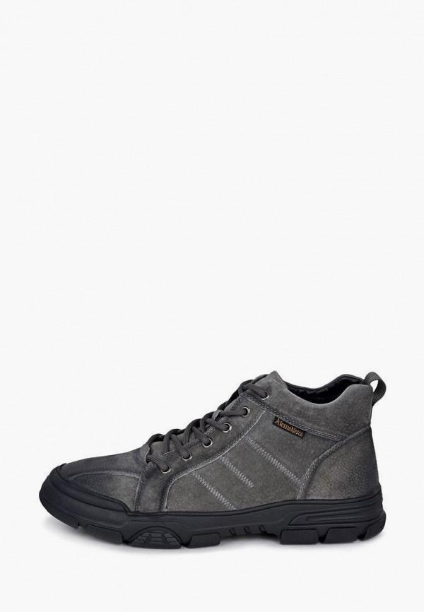 мужские низкие ботинки alessio nesca, серые