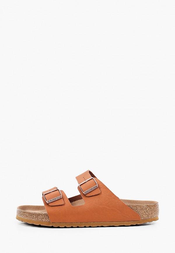 мужские сандалии birkenstock, коричневые
