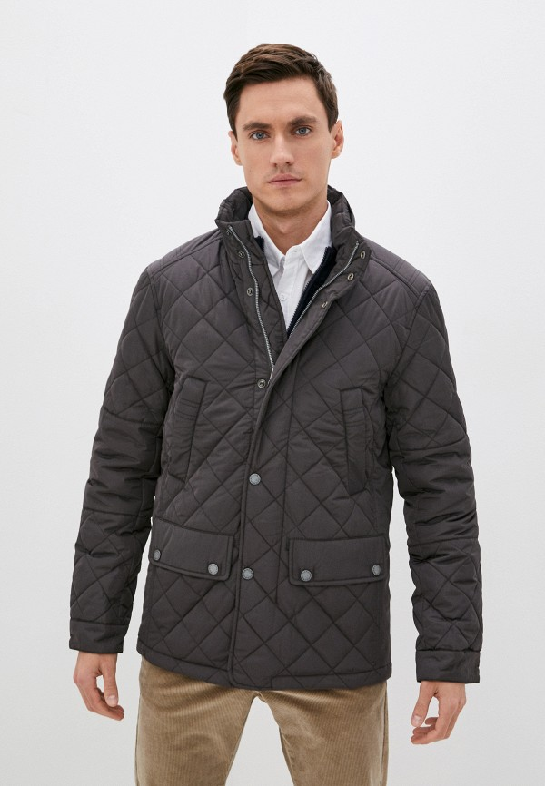 мужская утепленные куртка baon, серая