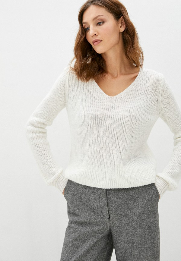 мужской пуловер baon, белый