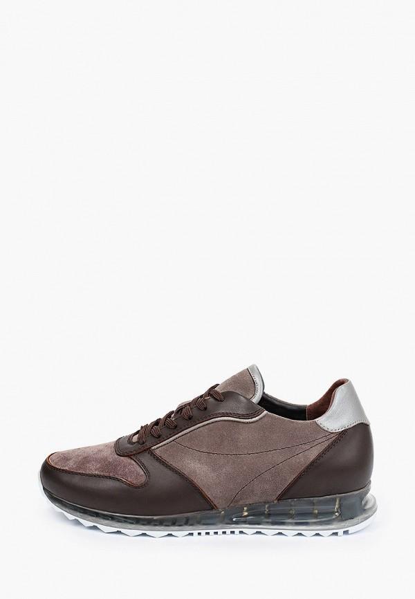 мужские низкие кроссовки mascotte, коричневые
