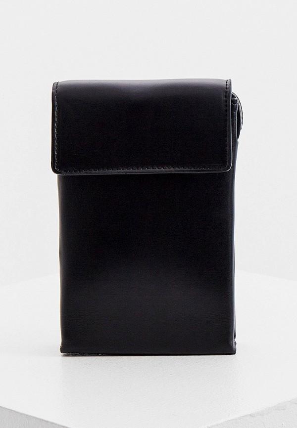 мужская сумка через плечо sandro, черная