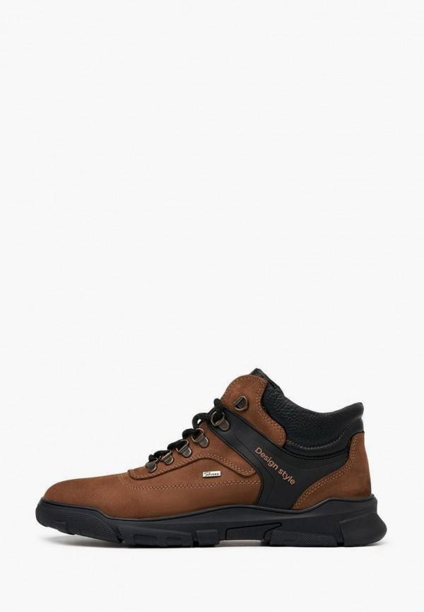 мужские высокие ботинки alessio nesca, коричневые