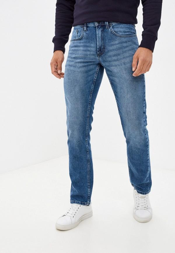 мужские зауженные джинсы henderson, голубые
