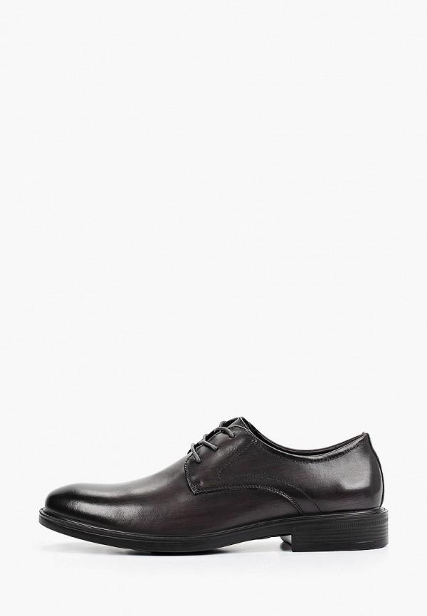 мужские туфли-дерби mascotte, серые