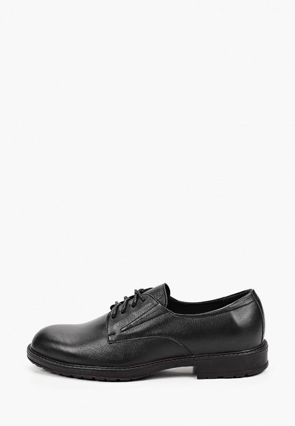 мужские туфли-дерби valley, черные