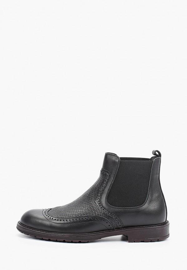 мужские ботинки-челси valley, черные