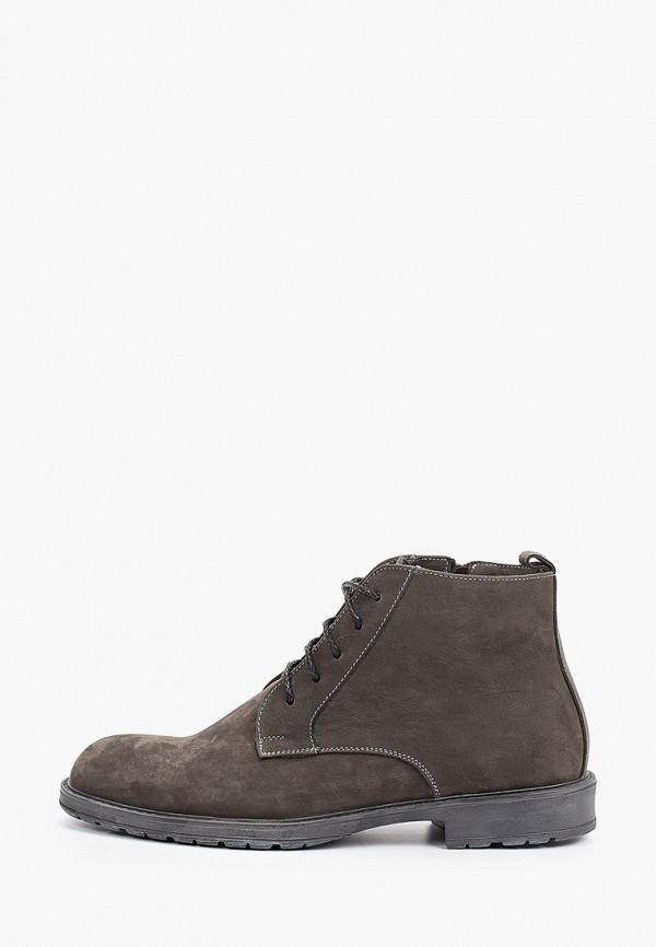 мужские высокие ботинки valley, серые