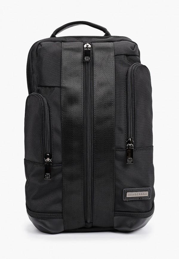 мужской рюкзак henderson, черный