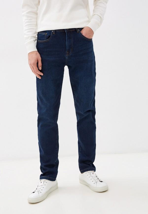 мужские прямые джинсы baon, синие