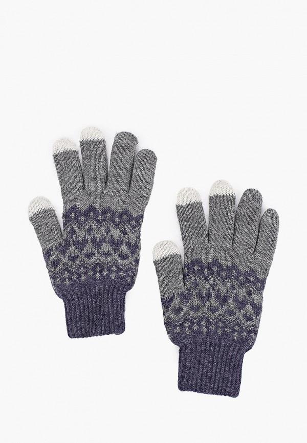 мужские текстильные перчатки baon, серые