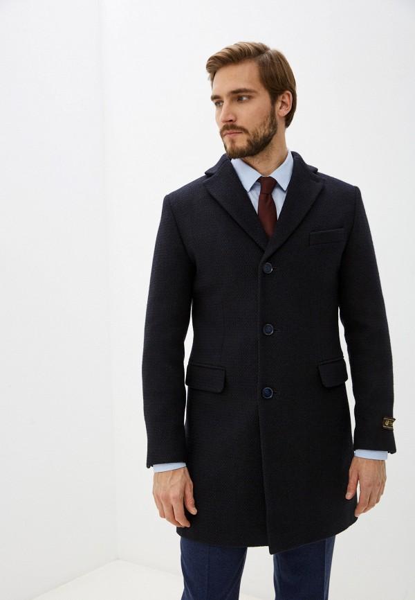мужское пальто bazioni, синее