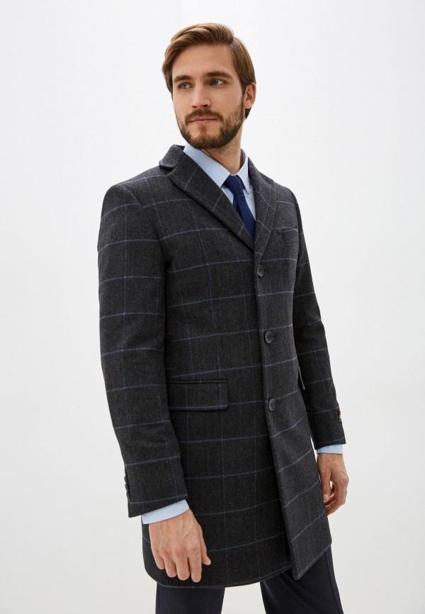 мужское пальто bazioni, серое