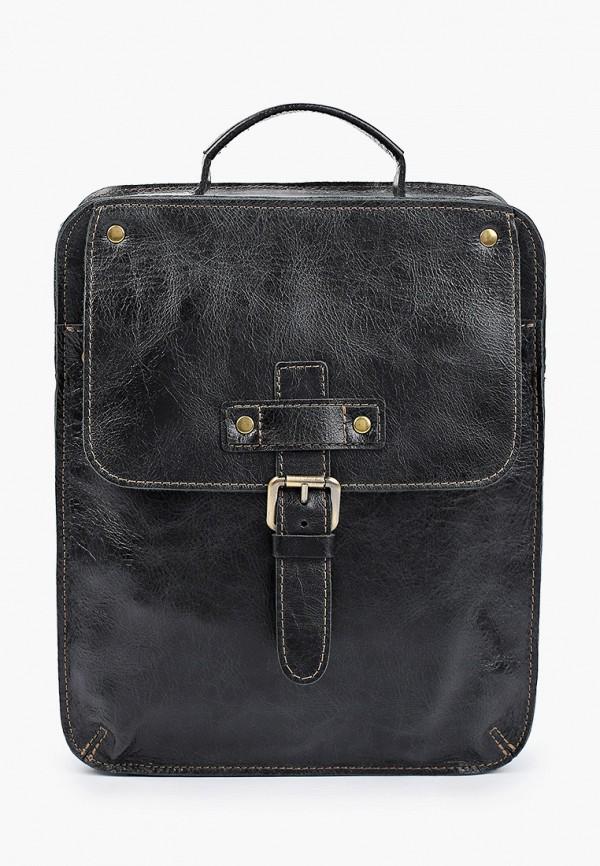 мужская сумка с ручками igermann, черная