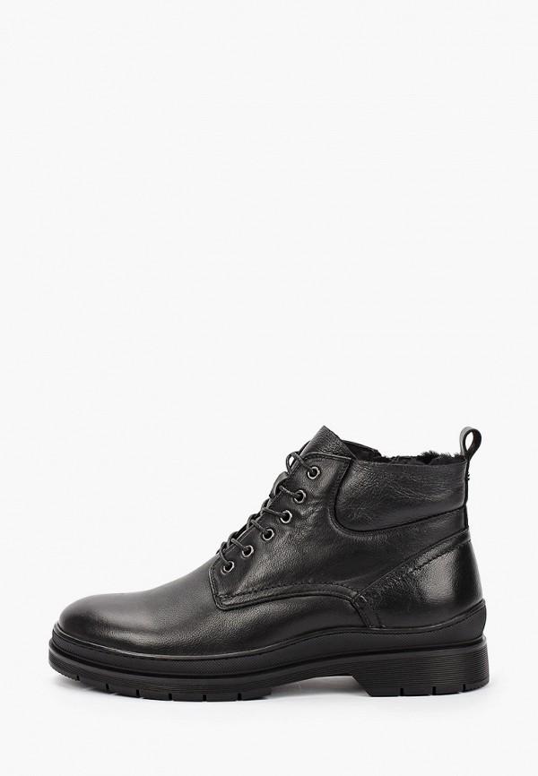 мужские высокие ботинки mascotte, черные