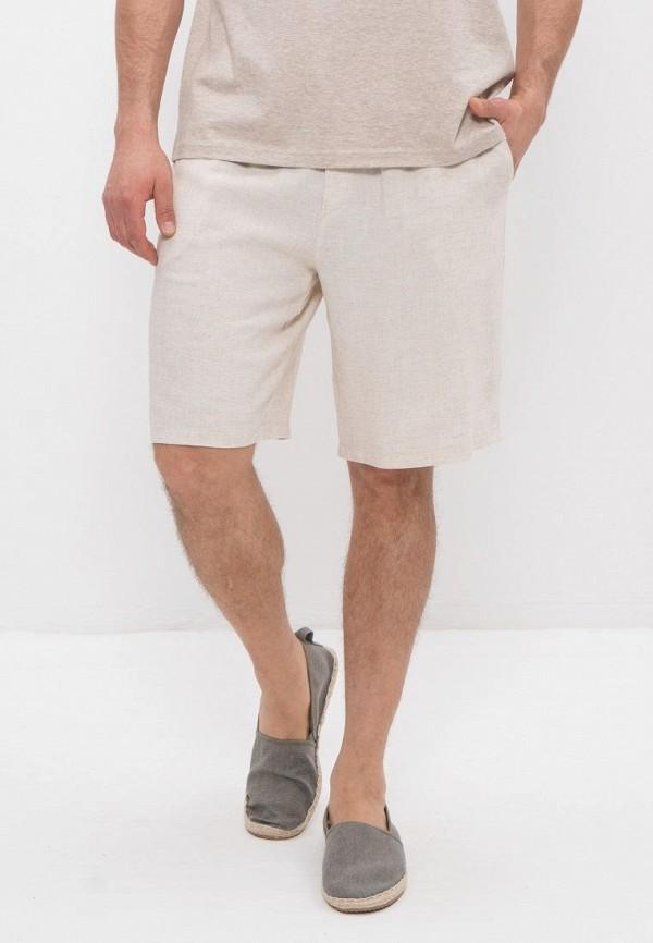 мужские повседневные шорты cleo, бежевые