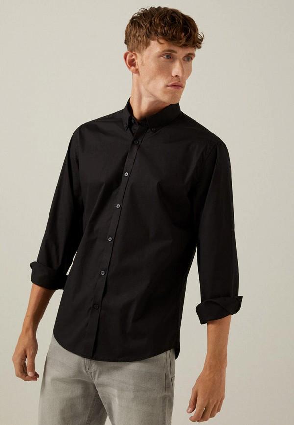 мужская рубашка springfield, черная