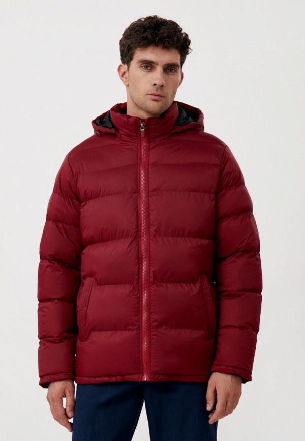 Куртка утепленная Finn Flare бордового цвета