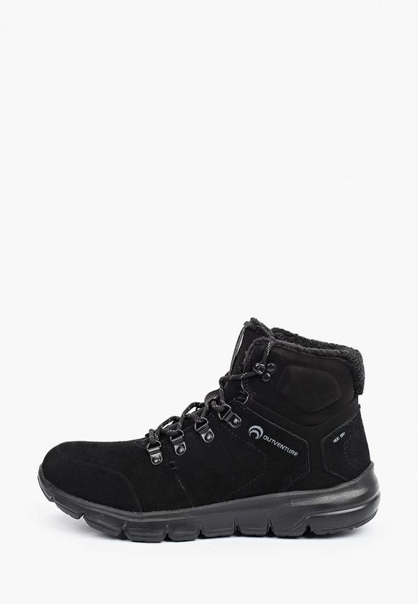 мужские высокие ботинки outventure, черные