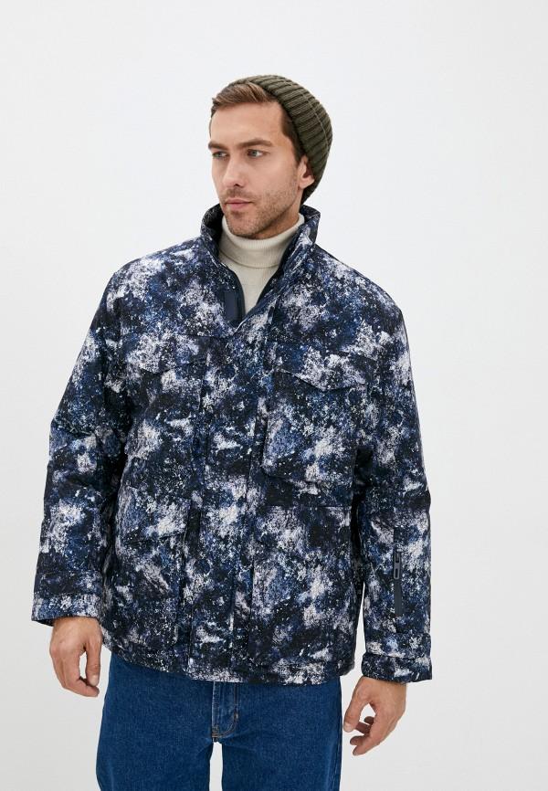 мужская утепленные куртка zolla, синяя