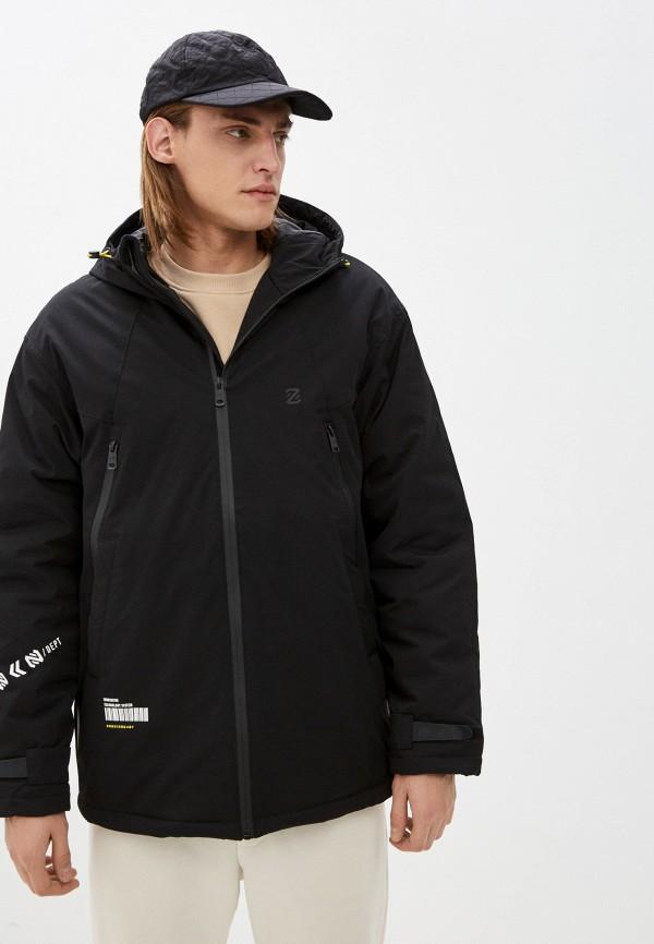 мужская утепленные куртка zolla, черная