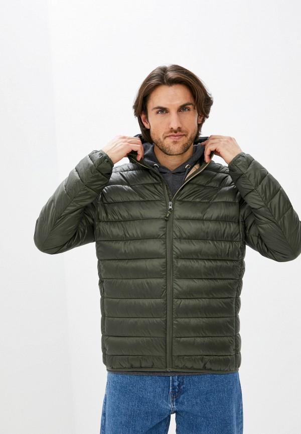мужская утепленные куртка zolla, хаки