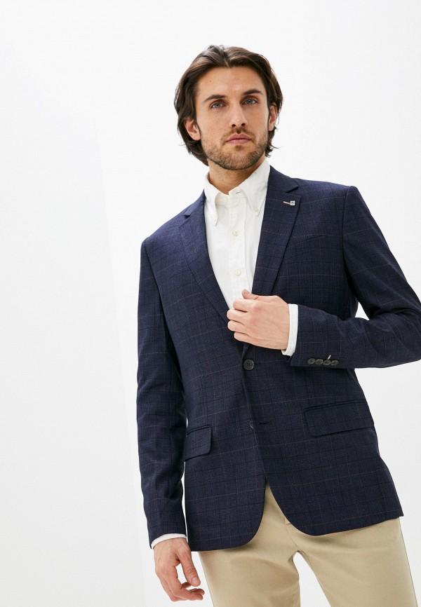 мужской пиджак zolla, синий
