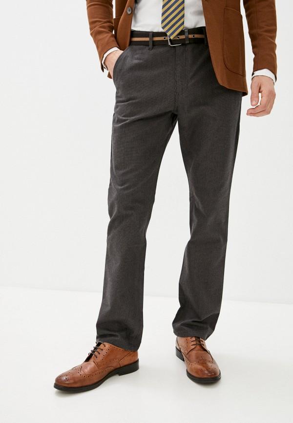 мужские повседневные брюки zolla, коричневые