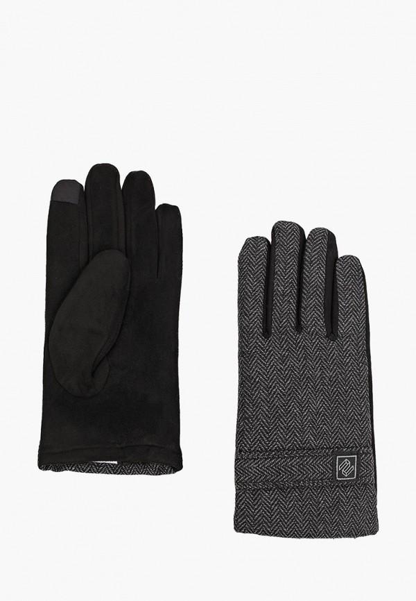 мужские текстильные перчатки zolla, серые