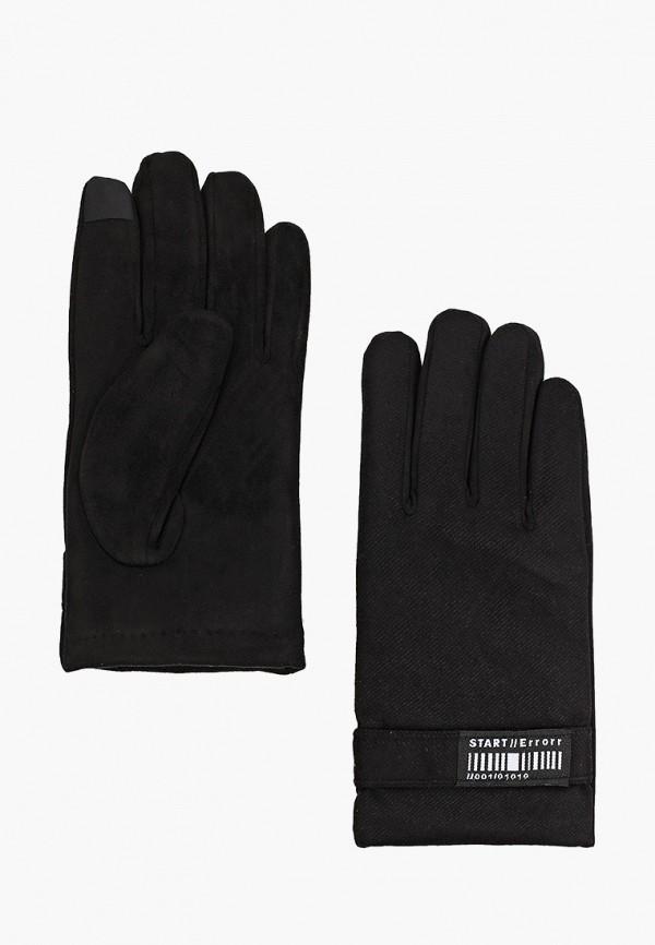 мужские текстильные перчатки zolla, черные