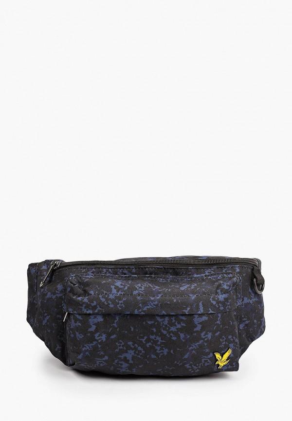 мужская поясные сумка lyle & scott, синяя