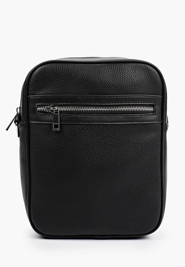 мужская сумка через плечо o'stin, черная