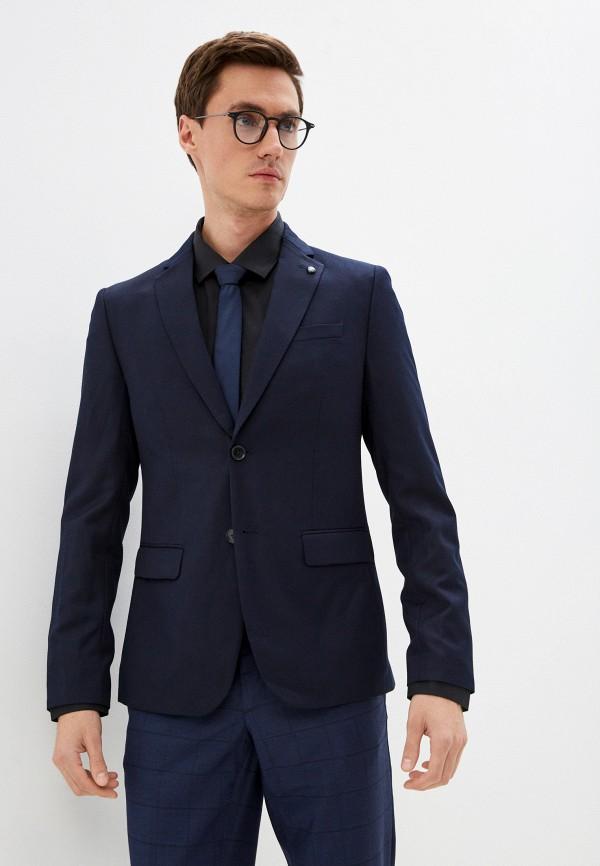 мужской пиджак o'stin, синий
