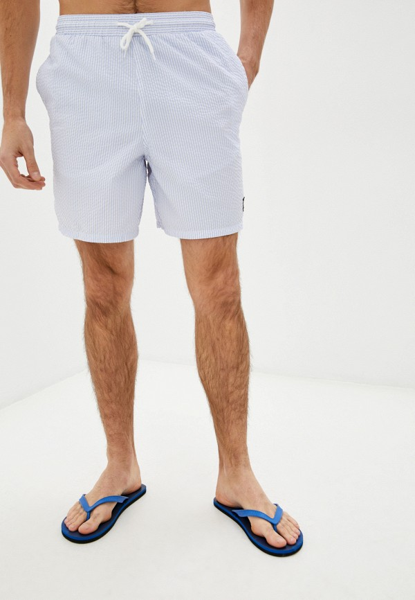 мужские повседневные шорты lyle & scott, голубые