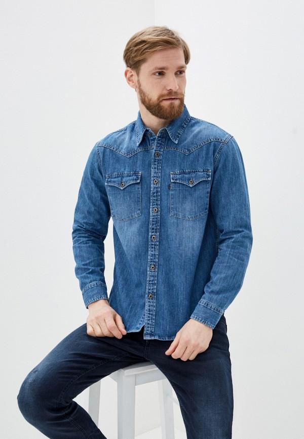 Рубашка джинсовая Dairos Dairos MP002XM1RMHS цена