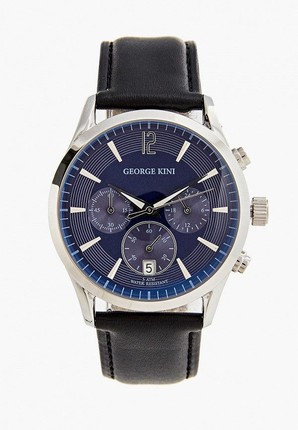 мужские часы george kini, синие
