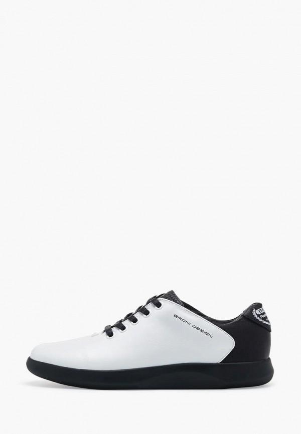 мужские кроссовки broni, белые